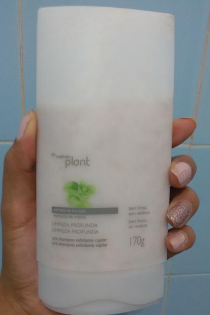 Pré Shampoo Esfoliante Natura Plant
