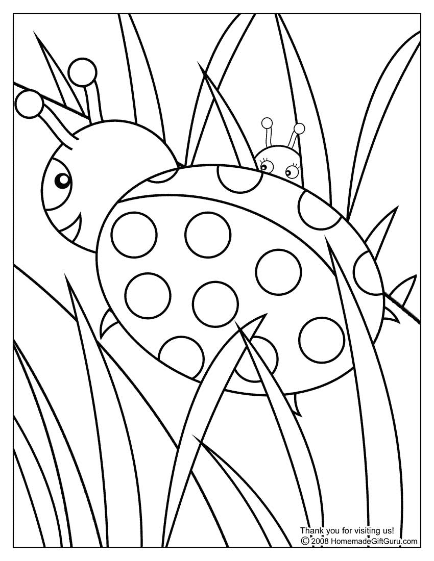Toddler & Preschool Kids Coloring Pages and Coloring  - preschool coloring sheets