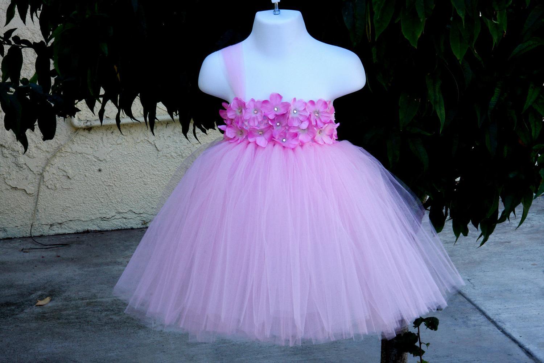 Adorable Paris Pink TuTu Dress