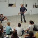 5de leerjaar bezoekt tentoonstelling meester Leo