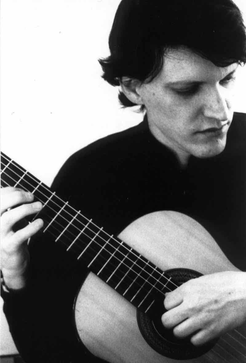 Jay Kauffman playing guitar