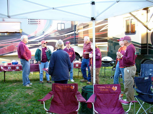 Friday Tailgate Crowd Grows This Week