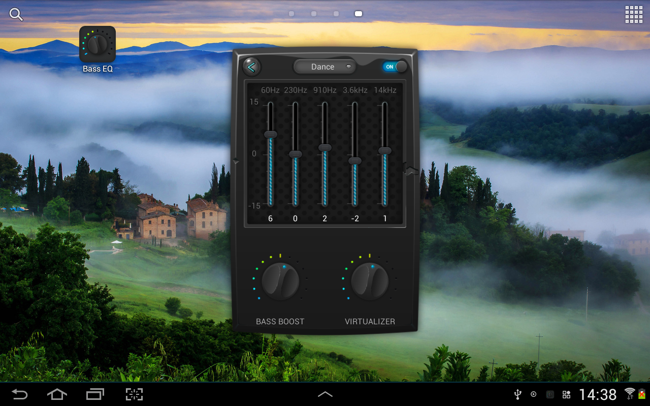 Equalizer & Bass Booster Pro Screenshot 8