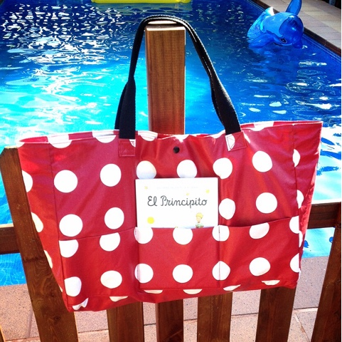 bolsa para piscina impermeable hand made