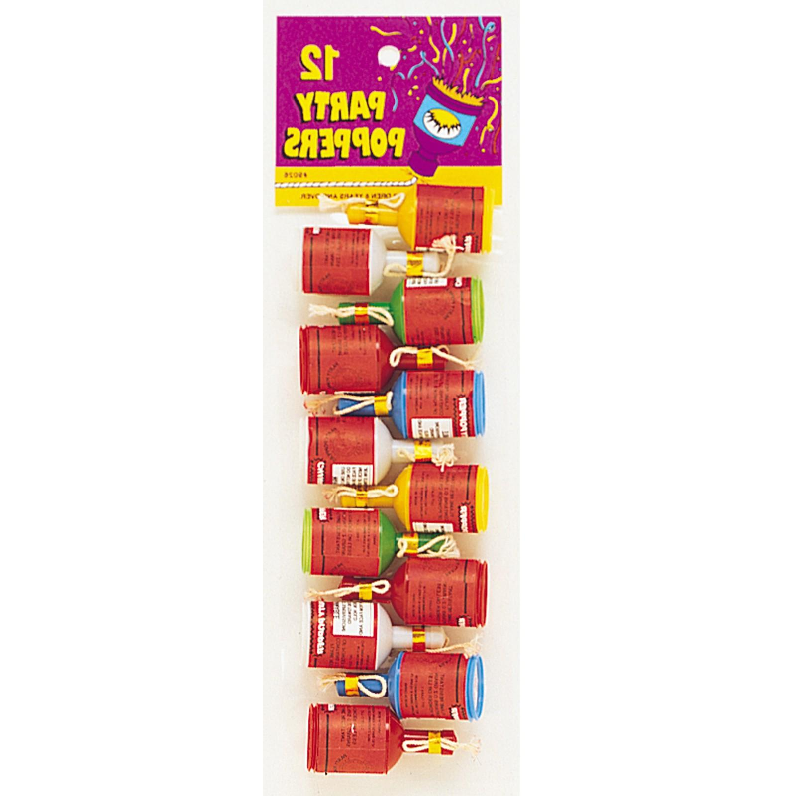 Champagne Party Poppers Dozen