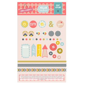 Hello Sunshine - Embellishment Set 37pcs