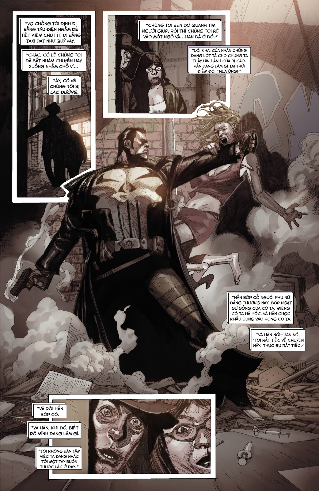 Punisher: Trial of the Punisher chap 1 - Trang 21