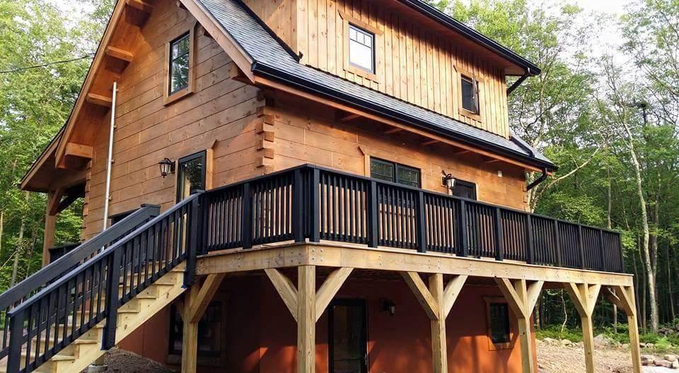 Casas de madera natural crea tu propio estilo os - Casas de madera natural ...