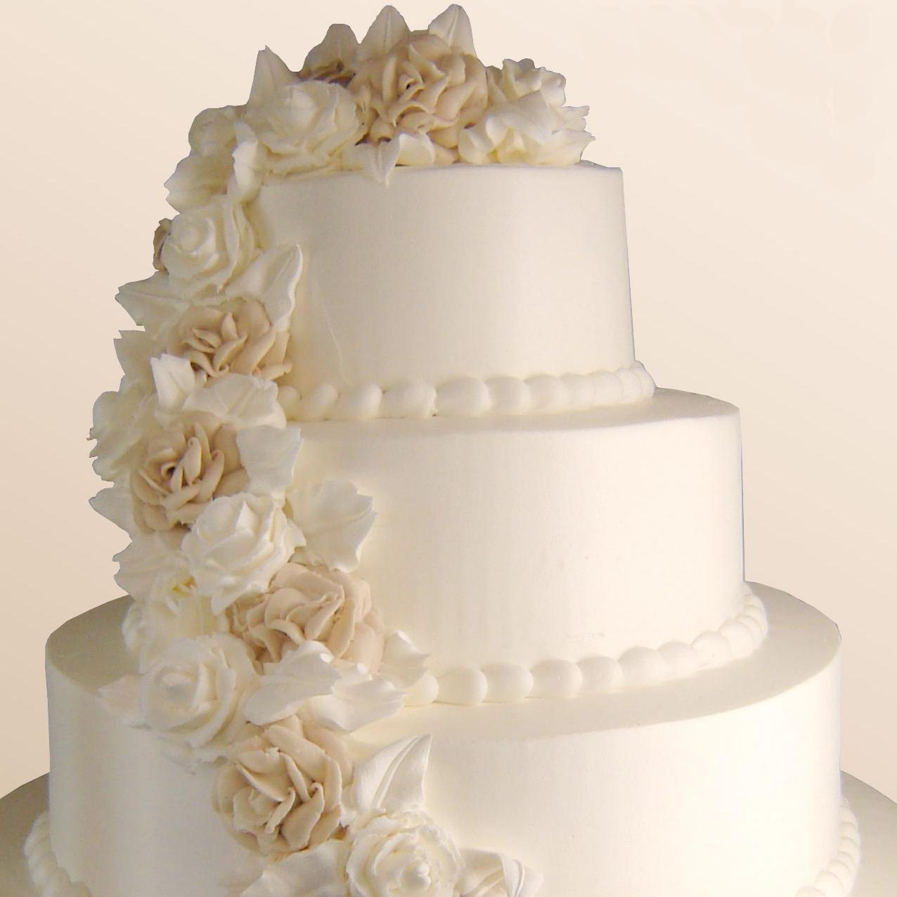 4 Layer Wedding Cake