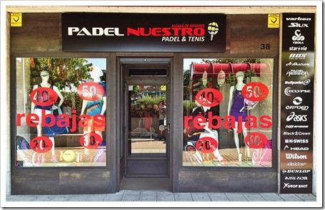 Padel Nuestro abre una nueva tienda de pádel en Alcalá de Henares.