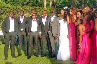 Cisse papiss wedding