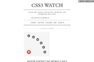 CSS3 Watch