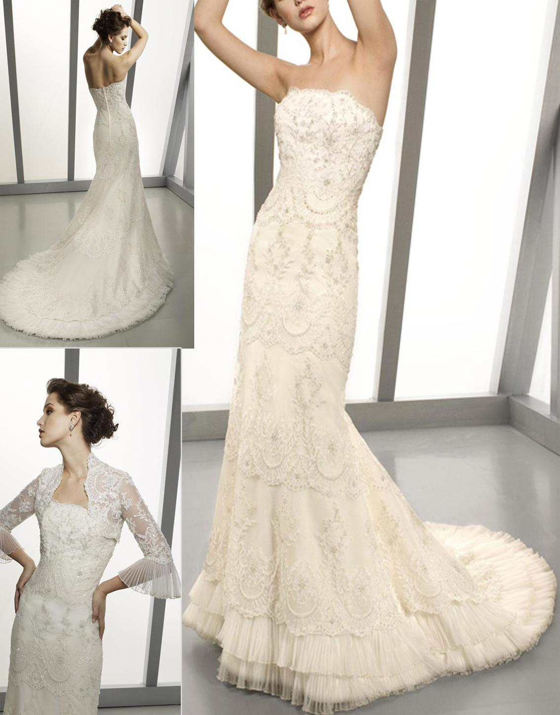 New Elegant Wedding Bridal Dress  Angela-155