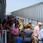 many tourists on the empire state building in New York City, New York, United States