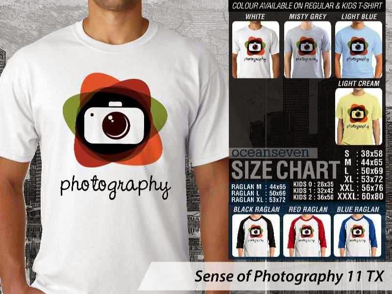 Kaos kamera Sense of Photography 11 Photography distro ocean seven