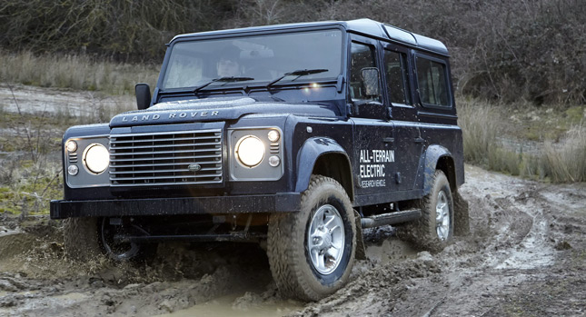 Land Rover Defender Electric 11 Land Rover Electrifies Classic Defender for the Geneva Motor Show