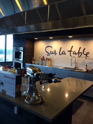 Excurstion to the test Kitchen of Sur la Table