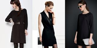 Petites robes noires en fête !