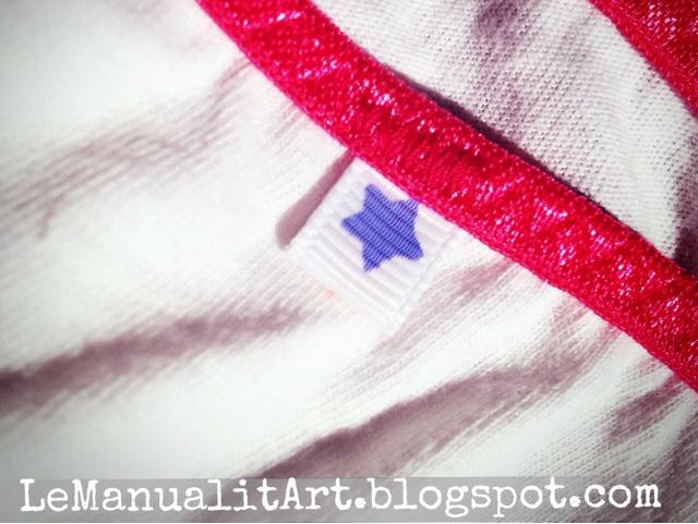complementos de costura: etiquetas