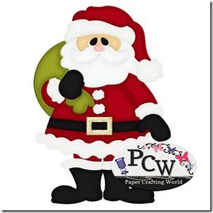 pcw santa standing-450