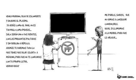 Rajoy debates
