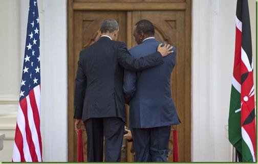 obama kenyan president