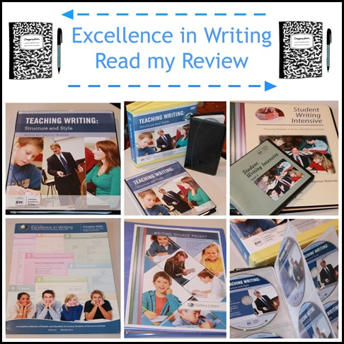 institute of excellence in writing reviews Institute for excellence in writing has updated their dvd seminar and workbook and we at homeschooling6 have been fortunate to be one of the blessed reviewers.