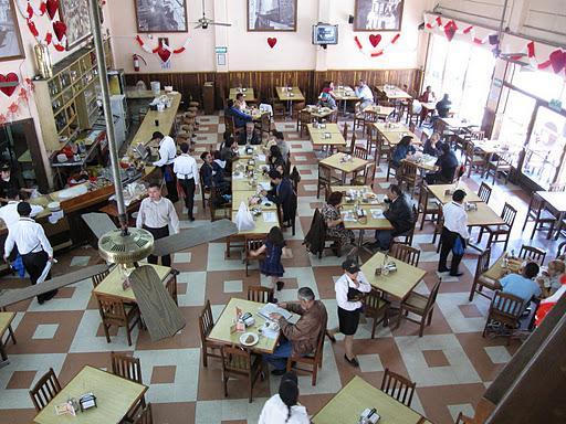 Cafe La Habana. Feb 13, 2010