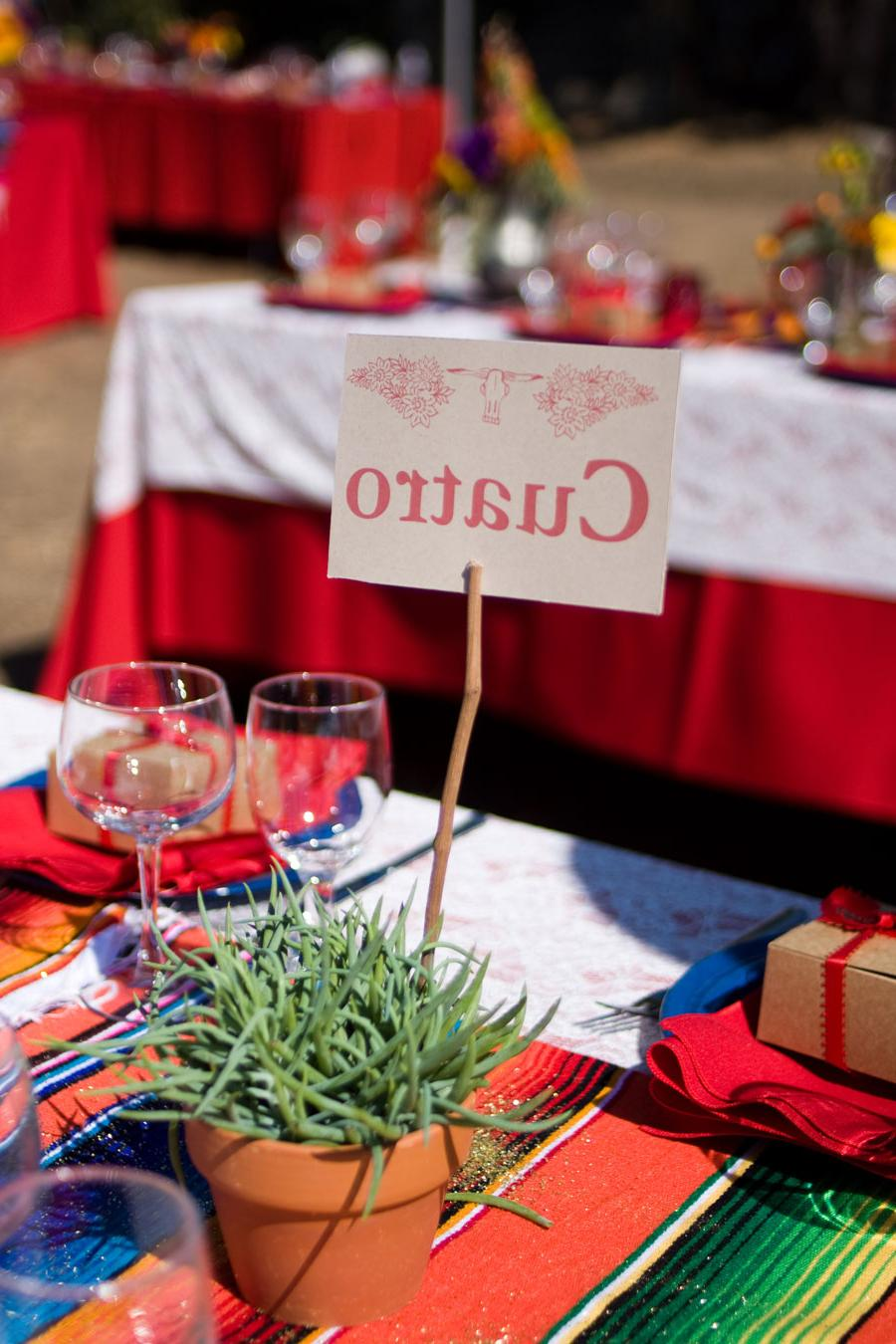 Mexican Fiesta Theme Wedding