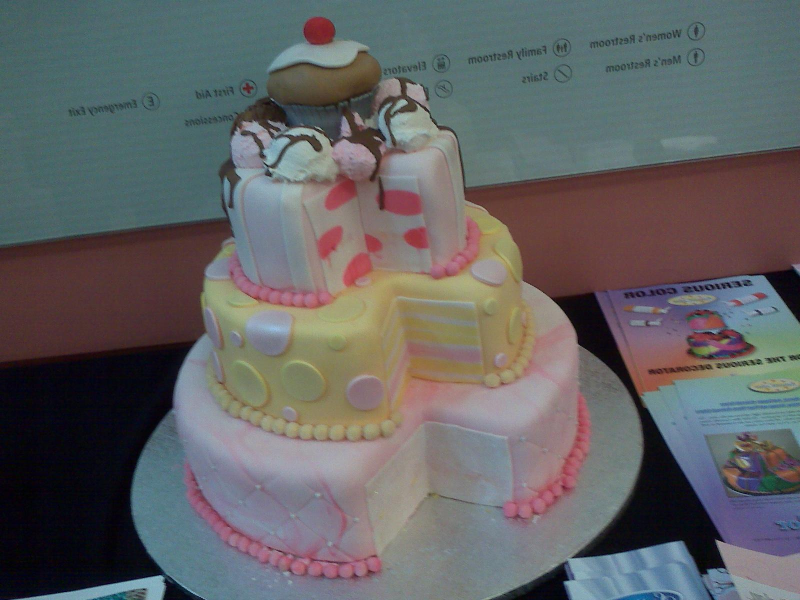 Cake Decoration By Fondant : Emilee s blog: There was even a candy table