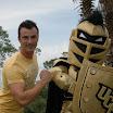 Knightro- UCF' s mascot