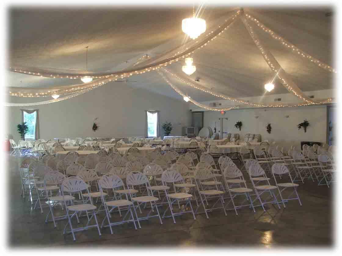 Indoor and Outdoor Wedding