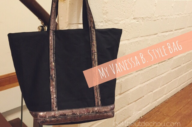 Vanessa B. style bag with sequins DIY