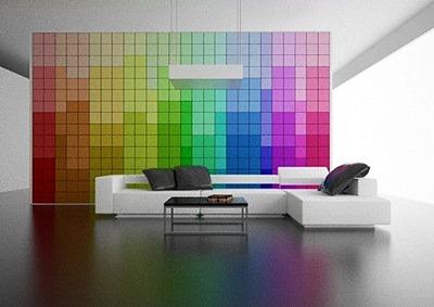 verftechnieken kleurrijke muur