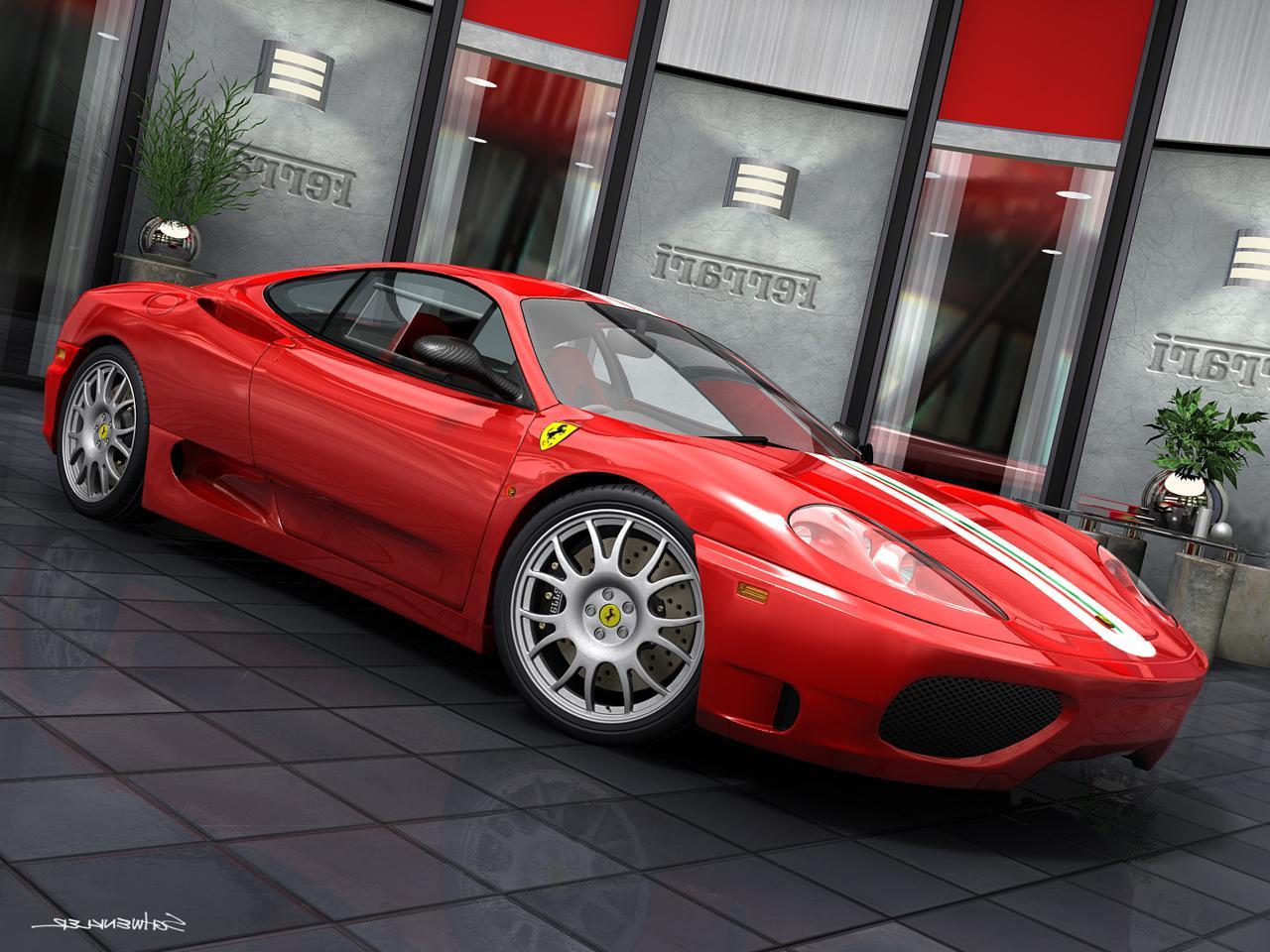 Ferrari Challenge Stradale 01