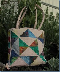 One Block Wonder Bag #2
