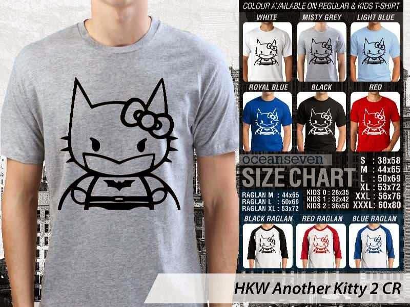 Kaos kartun lucu Another Hello Kitty 2 distro ocean seven