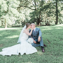 by Teena Emerson - Wedding Bride & Groom