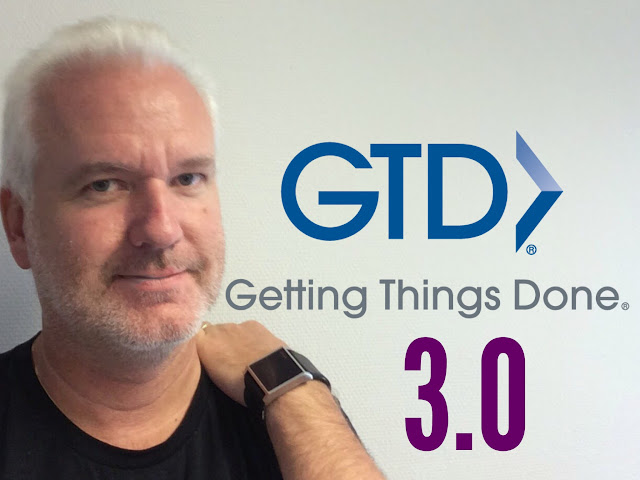 GTD 3.0 - my updated workflow and mindmap