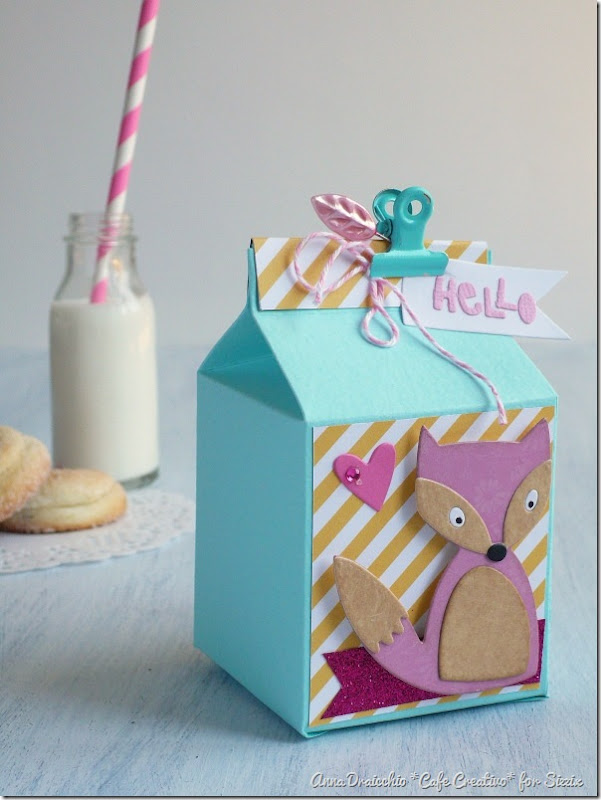 Milk box Sizzix - Big Shot Plus - Die Cutting - Packaging - Favors - Bomboniere - by cafecreativo (3)