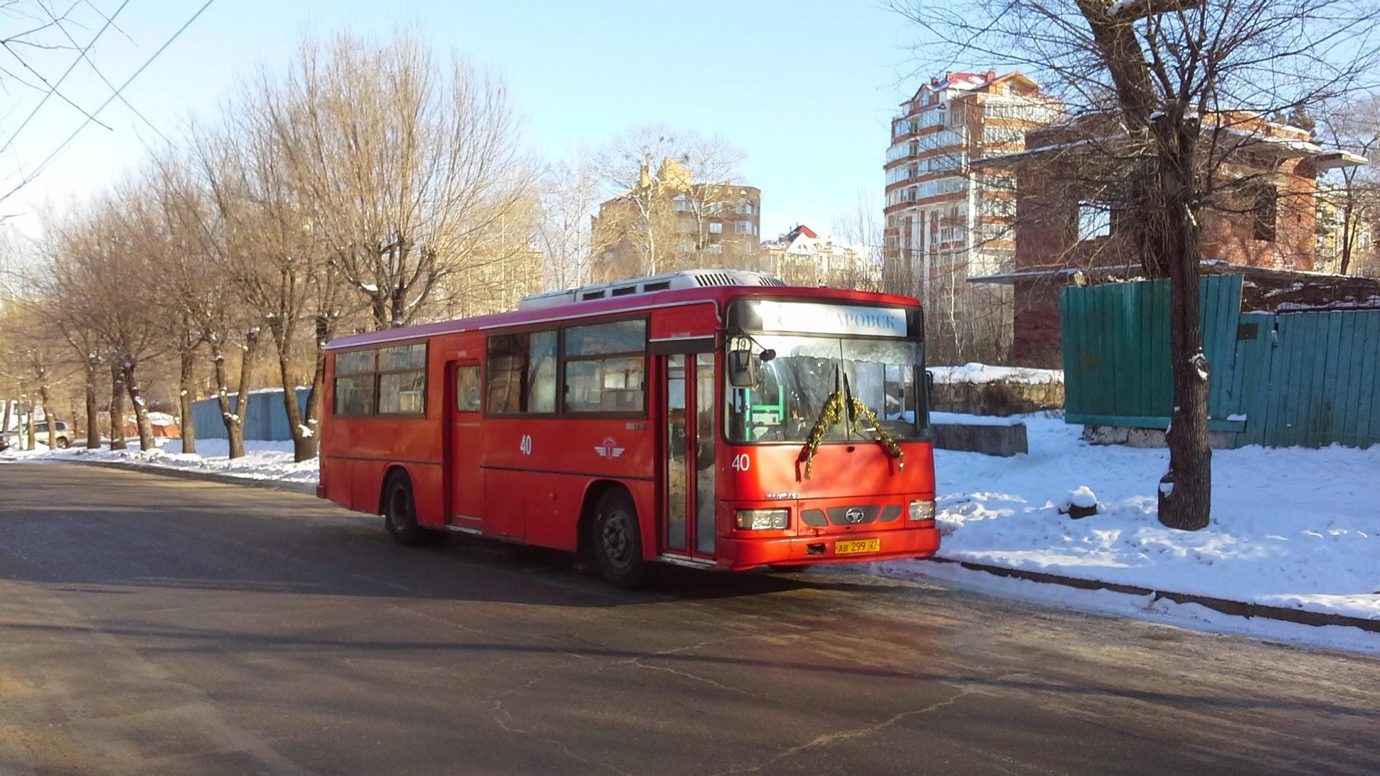 Автобус в Хабаровске