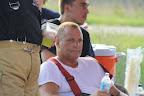 Firefighter Allen Kitts in Rehab Area