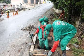 Prefeitura continua trabalhando para minimizar efeitos da chuva