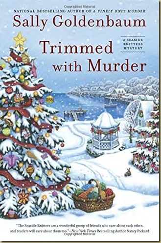 Trimmed with Murder by Sally Goldenbaum - Thoughts in Progress