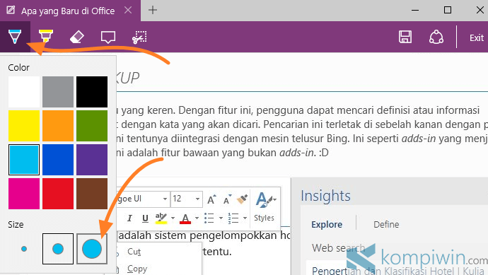 membuat web note 3