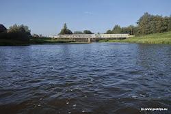 Citice železniční most (vlečka),  + 100 m krátká peřej.