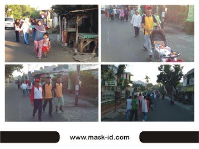 Jalan Sehat RW. 08 Minomartani | Mask-ID