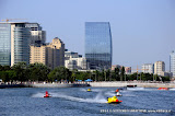 BAKU-AZERBAIJAN-July 7, 2013- RACE for the UIM F2 Grand Prix of Baku in front of the Baku Boulevard facing the Caspian Sea.Picture by Vittorio Ubertone