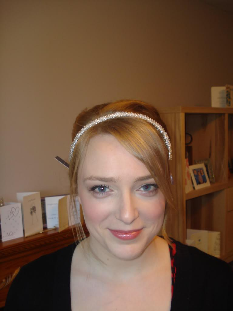 diamante wedding hair bands