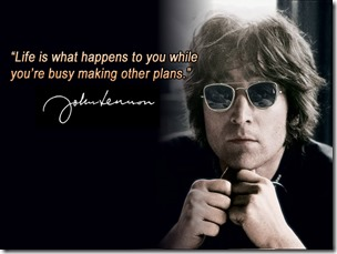 John Lennon Busy Making Other Plans